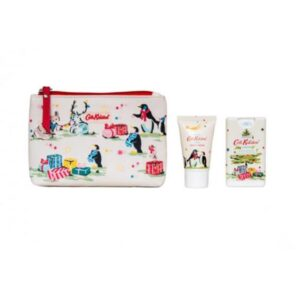 Cath Kidston Festive Party Animals Cosmetic Pouch Set
