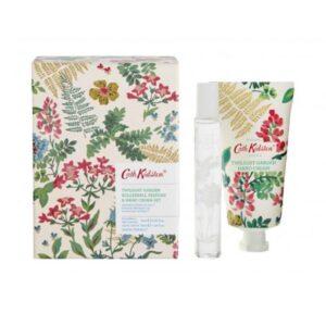 Cath Kidston Twilight Garden Rollerball Perfume & Hand Cream Set