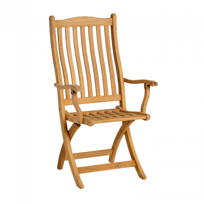 Roble Folding Carver Chair