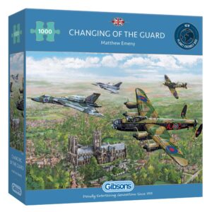 Gibsons Changing of the Guard 1000 Piece Jigsaw Puzzle