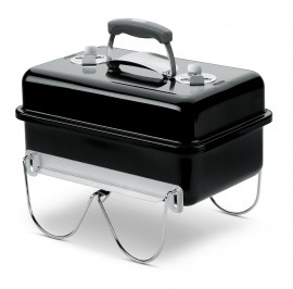 1131004A14 2014 Weber Go Anywhere Charcoal Grill Black EU Product Facing Left