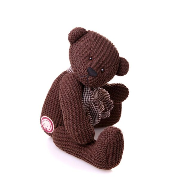 Charlie Bears - Bobbin Knitted Bear With Ribbon