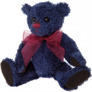Charlie Bears Cheeky Charlie Keyring - Denim