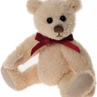 Charlie Bears Cheeky Charlies Keyring - Linen