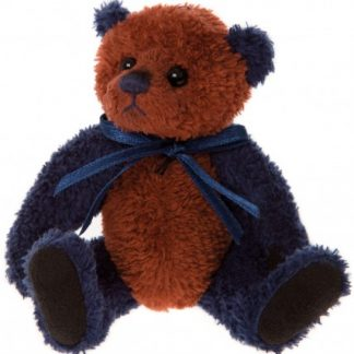 Charlie Bears Cheeky Charlies Keyring - Tartan