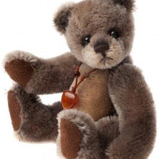 Charlie Bears Keyring - Moccasin
