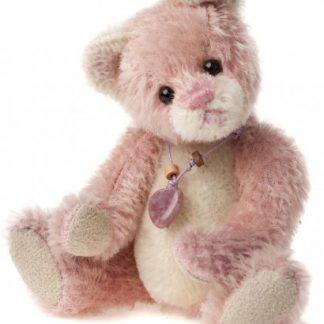 Charlie Bears Mini Mohair Keyring - Balletshoe
