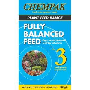 Chempak Fully Balanced Plant Feed Formula No. 3 (800g)