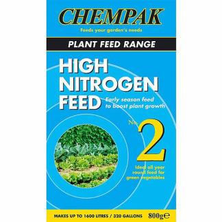 Chempak High Nitrogen Feed No 2 800g