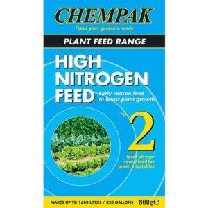 Chempak High Nitrogen Plant Feed Formula No. 2 (800g)