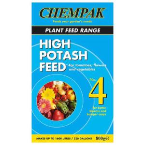 Chempak High Potash Feed No 4 800g