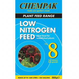 Chempak Low Nitrogen Mature Plant Feed Formula No. 8 (800g)
