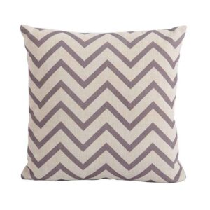 Bramblecrest Chevron Cocoa Square Scatter Cushion