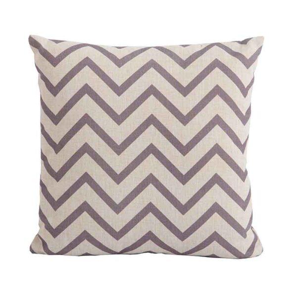 Bramblecrest Chevron Cocoa Square Scatter Cushion