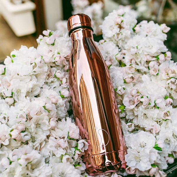 Chilly's Reusable Bottle - Chrome Rose Gold (500ml) lifestyle