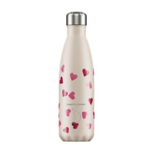 Chilly's Reusable Bottle - Emma Bridgewater Pink Hearts (500ml)