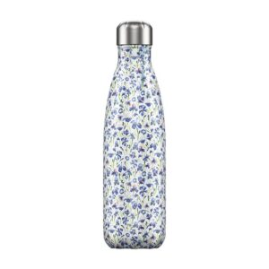 Chilly's Reusable Bottle - Floral Iris (500ml)