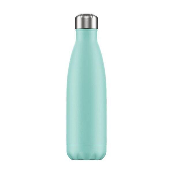 Chilly's Reusable Bottle - Pastel Green (500ml) back