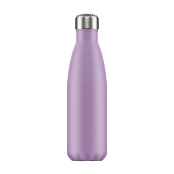 Chilly's Reusable Bottle - Pastel Purple (500ml) back