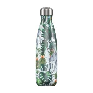 Chilly's Reusable Bottle - Tropical Elephant (500ml)