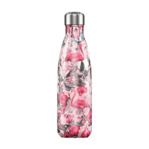 Chilly's Reusable Bottle - Tropical Flamingo (500ml)