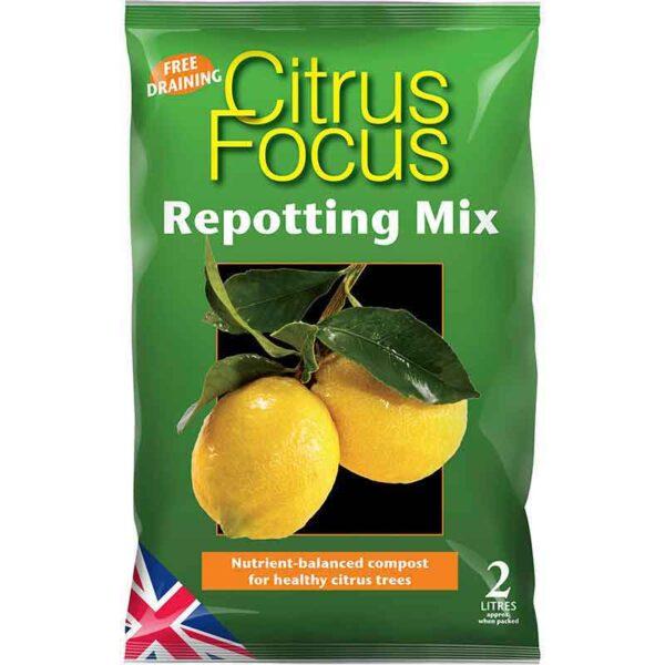 Citrus Focus Repotting Mix 2 Litres