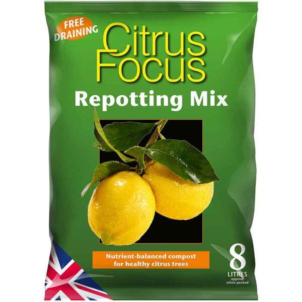 Citrus Focus Repotting Mix 8 Litres