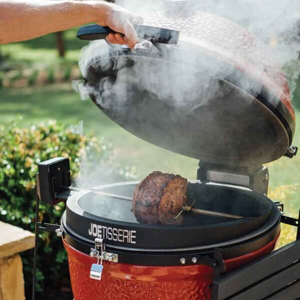 Cook meat to perfection with the JoeTisserie