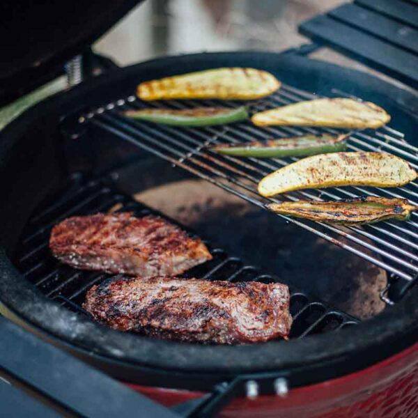 Cook up a feast on the Classic I Kamado Joe Grill