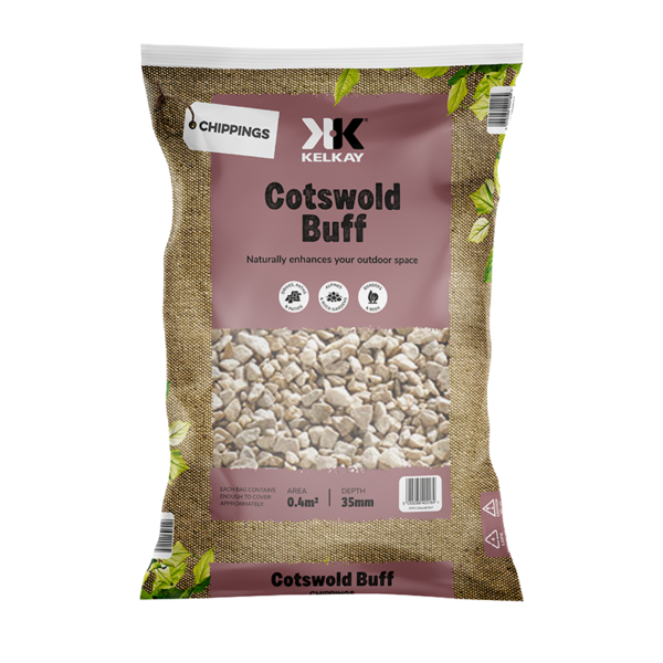 Kelkay Chippings - Cotswold Buff (Large Pack)