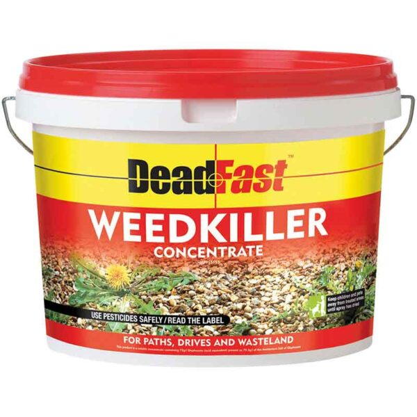 Deadfast WeedKiller Concentrate Tub 12 x 100ml