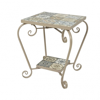 Toulouse Mosaic Small Side Table