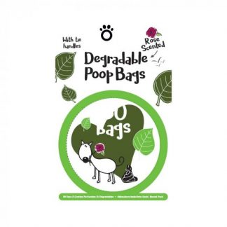 Zoon Degradable Scented Poop Bags - 50 Pack