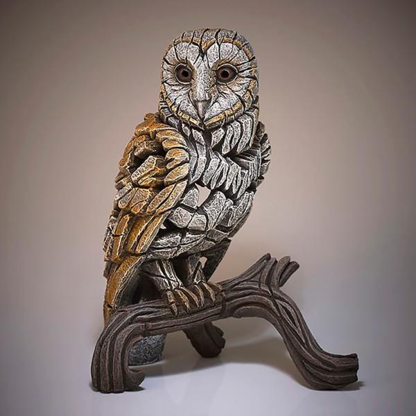 Edge Sculpture Barn Owl Side 2