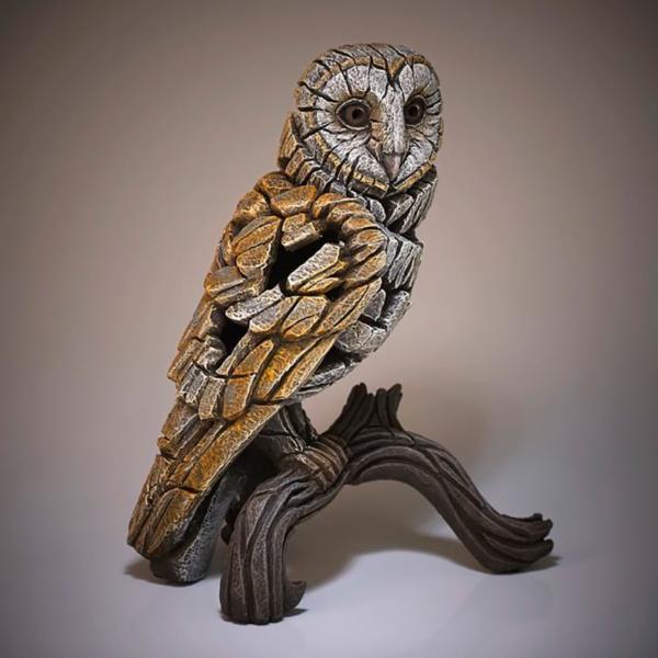 Edge Sculpture Barn Owl Side