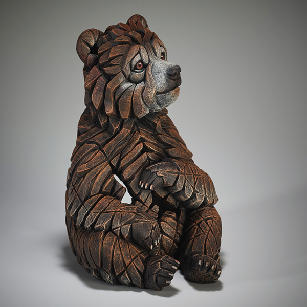 Edge Sculpture Bear Cub Side 2