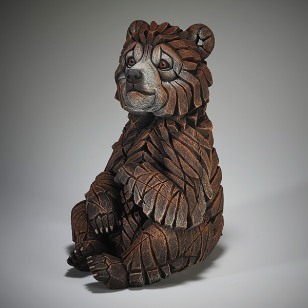 Edge Sculpture Bear Cub Side