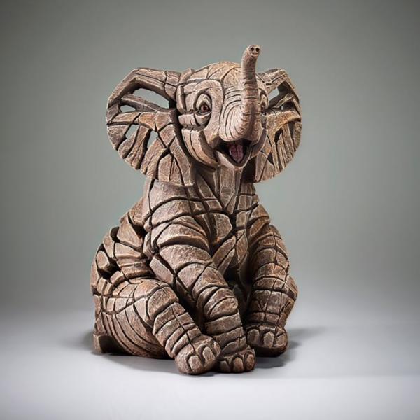 Edge Sculpture Elephant Calf