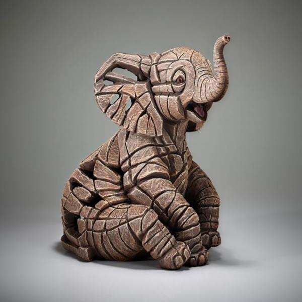 Edge Sculpture Elephant Calf Side 2