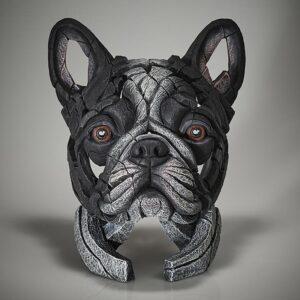 Edge Sculpture French Bulldog Pied EDB28P