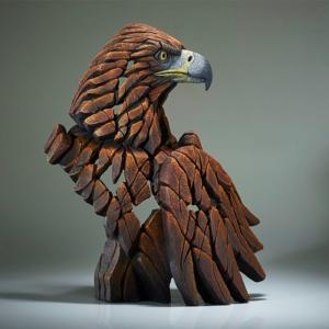 Edge Sculpture Golden Eagle Bust