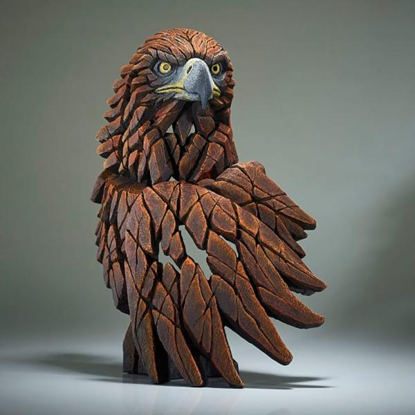 Edge Sculpture Golden Eagle Bust Side 2