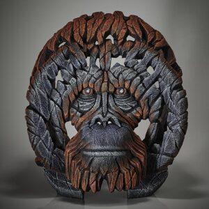 Edge Sculpture Orangutan Bust EDB29