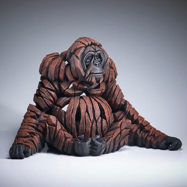 Edge Sculpture Orangutan Side