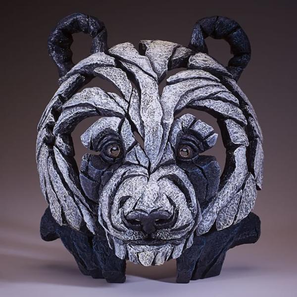 Edge Sculpture Panda Bust