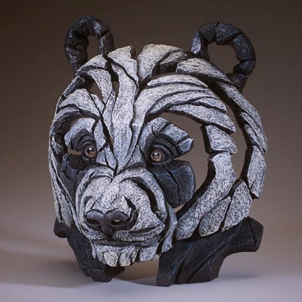 Edge Sculpture Panda Bust Side 2