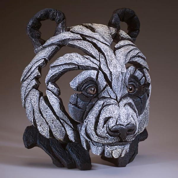 Edge Sculpture Panda Bust Side