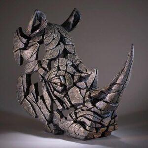 Edge Sculpture Rhinocerous Bust EDB07