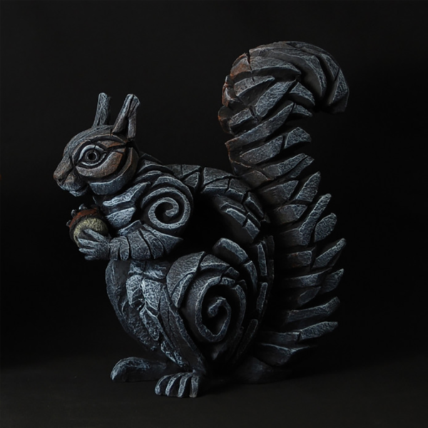 Edge Sculpture Squirrel - Grey