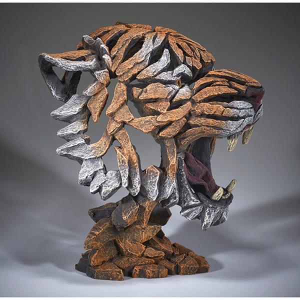 Edge Sculpture Tiger Bust - Bengal Side